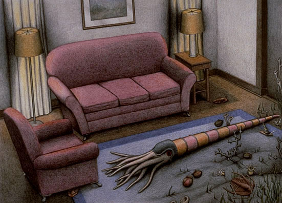 Gerald Guthrie - Devonian Period Living Room